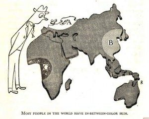 fraudulent_skin_color_map_from_The_Races_of_Mankind