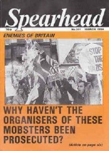 JohnTyndall's Spearhead magazine #301 March 1994