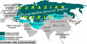 Map of Eurasia for Eurasian Political Movement - Oct. 10, 2012 (click to enlarge)
